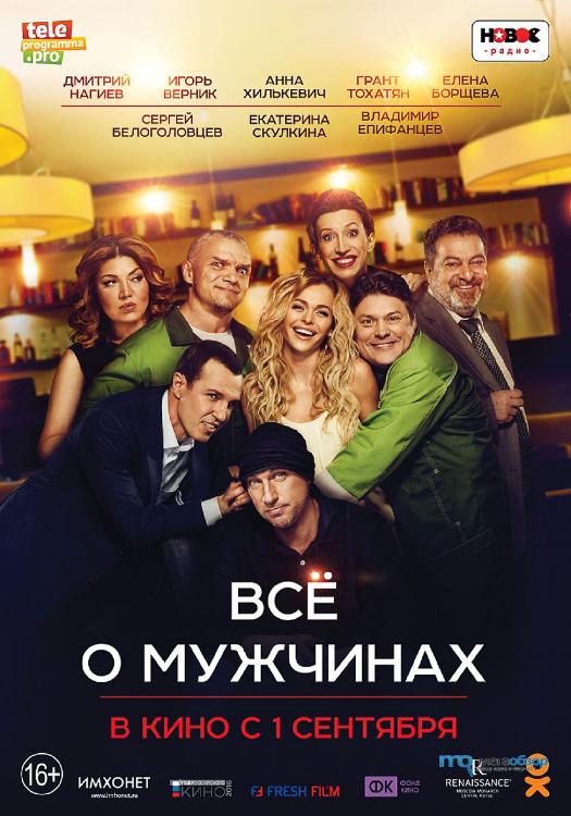 Все о мужчинах 2d | кинотеатр металлург.
