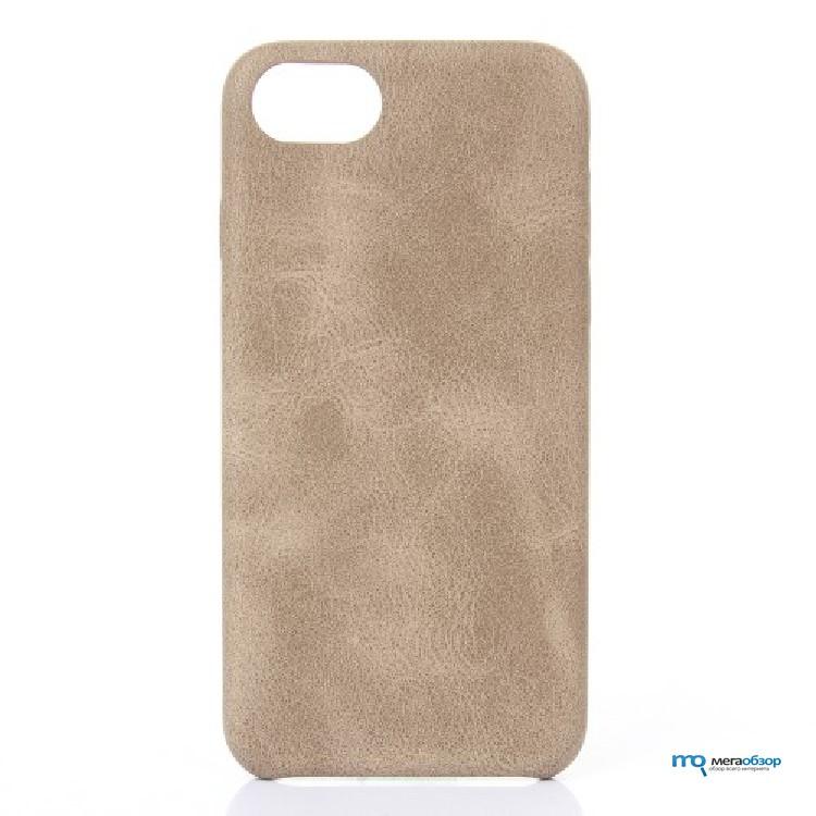 Кожаный чехол накладка Apple iPhone 7