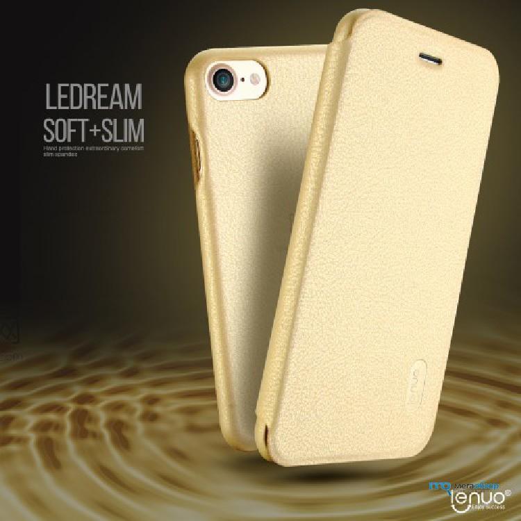 LENUO Ledream кожаный чехол книжка для iPhone 7