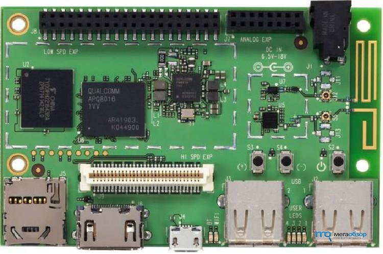 Компьютер Geniatech Developer Board IV получил чип