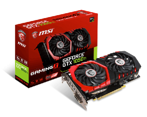 Лучшая видеокарта GeForce GTX 1050 Ti. MSI