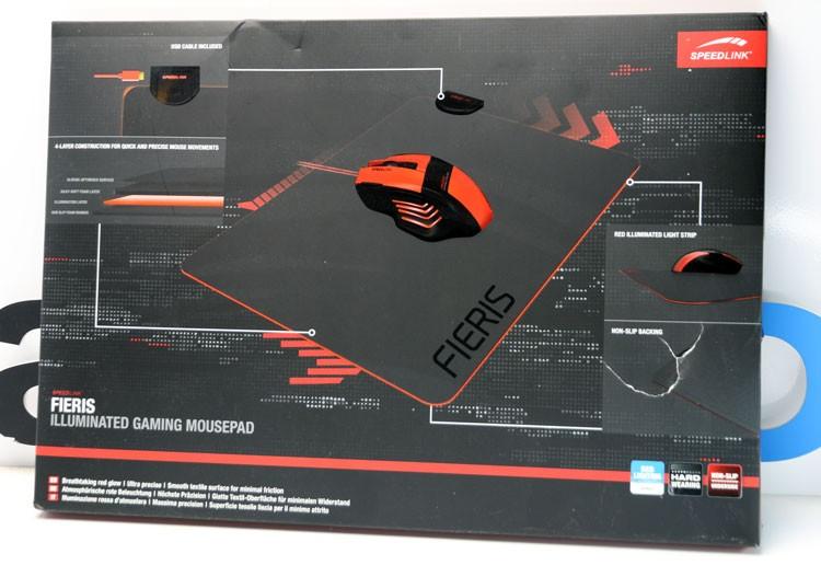 Обзор ковра с подсветкой Speedlink FIERIS