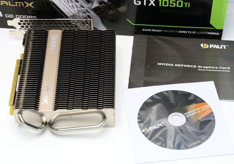 Palit GeForce GTX 1050 Ti 4GB KalmX