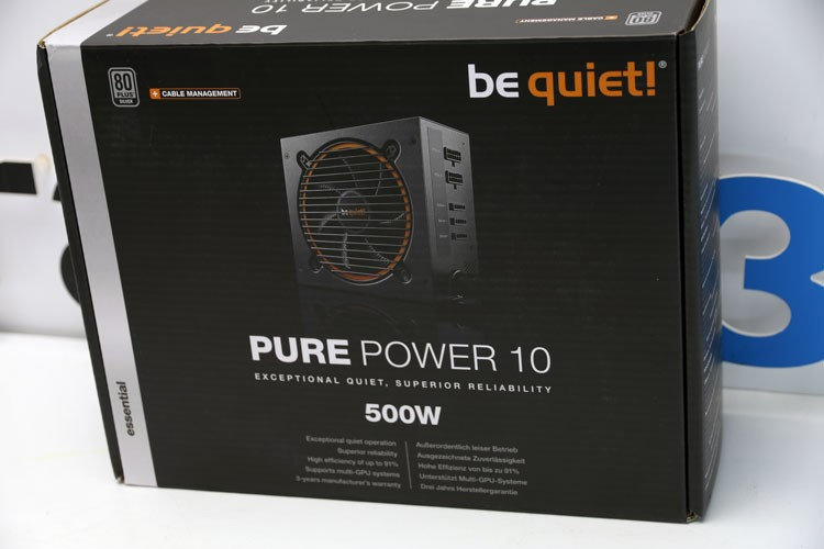 be quiet! Pure Power 10 CM 500W