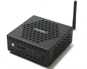 Неттоп ZOTAC ZBOX CI327 nano построен на Intel Apollo Lake