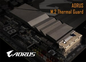 Gigabyte Teases Aorus M2 SSD Thermal Guard Solution
