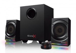 Продвинутые аудиосистемы Creative Sound BlasterX Kratos S5 и S3: BlasterX Acoustic Engine