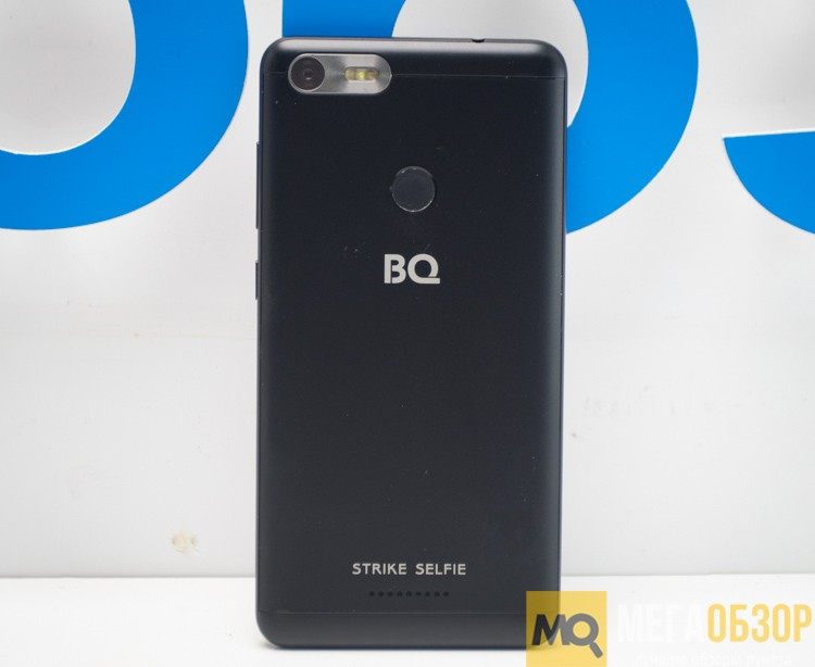Сотовый телефон BQ 5204 Strike Selfie Black
