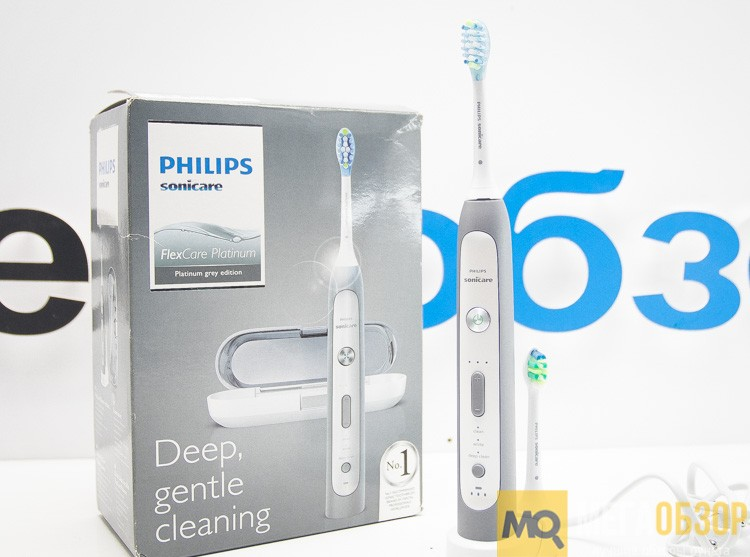 Обзор Philips Sonicare FlexCare Platinum HX9112 02. Электрическая ... 6b3070de36d4f