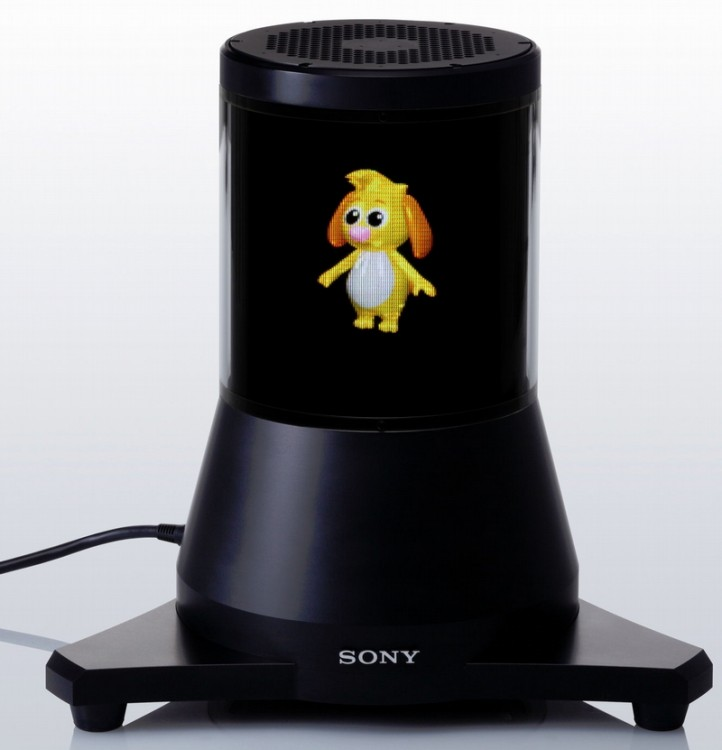 Новый коммуникационный робот от Сони сумеет присматривать задомом