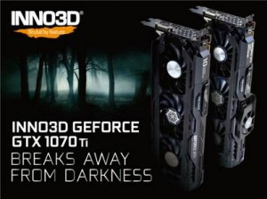 Новая серия видеокарт INNO3D GeForce GTX 1070 Ti
