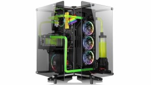 Thermaltake Core P90 Tempered Glass Edition просто шикарен