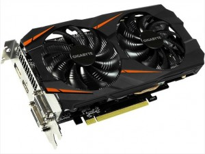 Gigabyte GeForce GTX 1060 с 5GB памяти Windforce OC Spotted