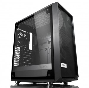 Fractal Design расширяет линейку Meshify C Line-Up Lighter Tint и Solid Side Panel
