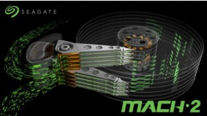 Seagate demos HDD, который может делать 480 Мбайт / с Технология MACH.2 Multi-Actuator
