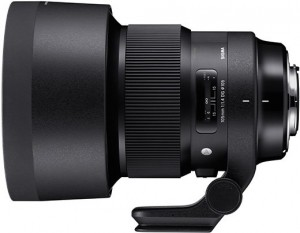 Объектив Sigma 105mm F1.4 DG HSM Art оценен в $1600