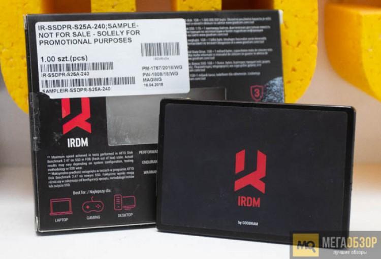 Обзор GoodRAM SSD IRDM 240 ГБ (IR-SSDPR-S25A-240). SSD-накопитель ...