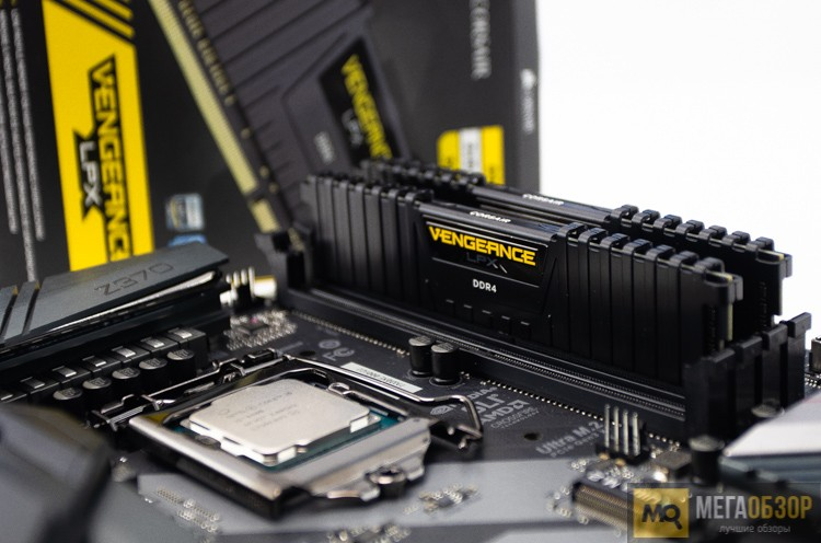 Обзор оперативной памяти Corsair Vengeance LPX 16GB 3000 МГц