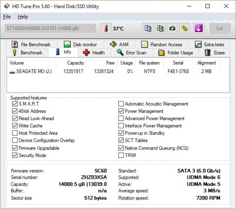 Seagate ST14000VN008