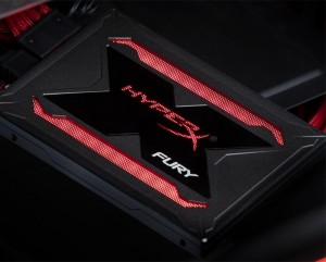 Kingston HyperX Fury RGB SSD с подсветкой