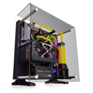 Представлен корпус Thermaltake Core P3 Tempered Glass Curved Edition