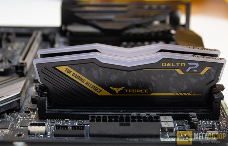 Team Group DELTA TUF Gaming RGB DDR4