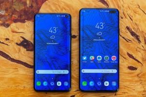 Samsung Galaxy S10 и Galaxy S10+ показали на качественных рендерах