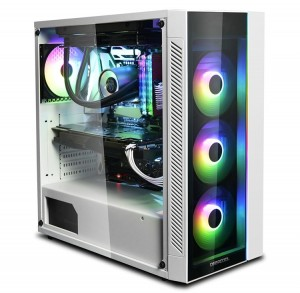 DeepCool Matrexx 55 ADD-RGB WH в белом цвете