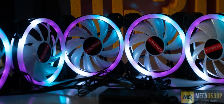 COOLMOON RGB FAN