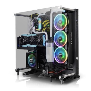 Thermaltake Core P5 TG V2 Black Edition выглядит шикарно