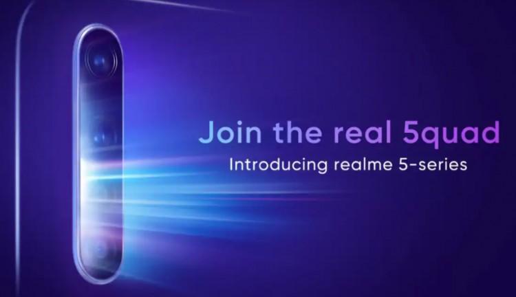 Всети интернет появились живые фотографии Realme с64 МПкамерой