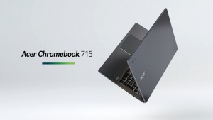 Acer представила ноутбук Chromebook Enterprise 715