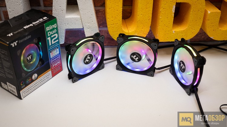 Thermaltake Riing Duo 12 RGB
