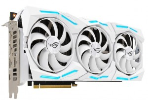 Представлена 3D-карта ASUS ROG Strix GeForce RTX 2080 Super White Edition