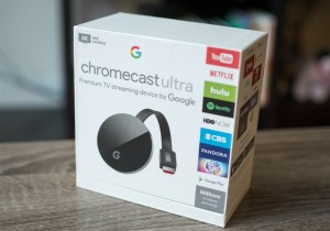 Новый Google Chromecast Ultra с Android TV
