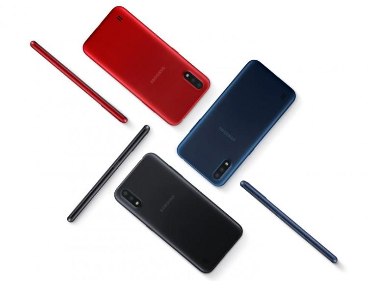 Бюджетный Samsung Galaxy M01 получит АКБ на 4000 мАч