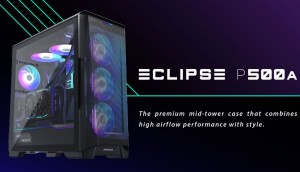 Phanteks выпустила корпус Eclipse P500A DRGB с широким функционалом