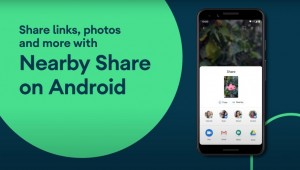 Google запускает функцию Nearby Share на Android