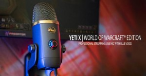 Blue и Blizzard Entertainment выпустили микрофон Blue Yeti X World of Warcraft Edition