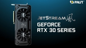 Palit представила версию JetStream GeForce RTX 3070