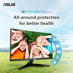 ASUS представила мониторы VY249HE и VY279HE c технологией Eye Care Plus