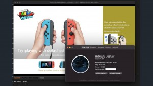 Apple Silicon M1 запускают игры с Nintendo Switch