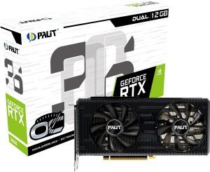 Palit представила графические карты GeForce RTX 3060 Dual и StormX