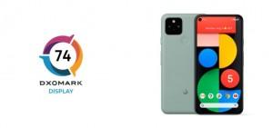 DXOMARK протестировал дисплей смартфона Google Pixel 5