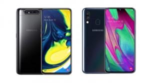 Samsung Galaxy A80 и Galaxy A40 получили Android 11