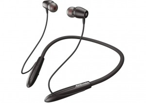 Наушники Portronics Harmonics 230 Wireless Neckband с поддержкой быстрой зарядки