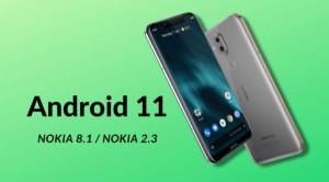 Nokia 2.3 и Nokia 8.1 обновились до Android 11