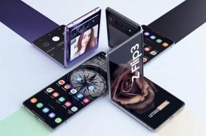 Samsung Galaxy Z Flip3 показали на рендерах