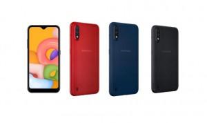 Samsung Galaxy A01 получает обновление One UI Core 3.1