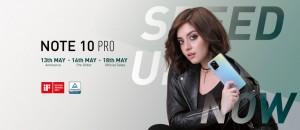 Infinix Note 10 Pro представят 13 мая